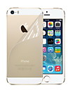HD Hardcover Front and Back Screen Protector with Cleaning Cloth for iPhone 5/5S