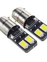 BA9S 1.5W 4x5730SMD 27LM 6000K холодный белый свет Светодиодные лампы для автомобилей (12V, 2 шт)
