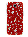Shining Stars Pattern Plastic Protective Hard Back Case Cover for Samsung Galaxy S3 I9300