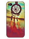 IPhone 4/4S için Festivali Kompleksi Dreamcatcher Desen PC Hard Case