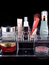 acrilico caja de almacenamiento de cosmeticos de doble capa combinada organizador cosmetica complejo transparente