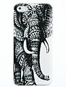 Elefantes Padrão Hard Case para iPhone 4/4S