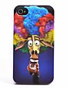 Le modèle de l'explosion de girafe ABS arrière pour l'iPhone 4/4S