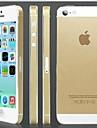 protetor de tela de ouro capa dura Voltar para o iPhone 5 / 5s