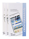 3pcs anti-rayures et anti-poussiere Hyper-98% Protecteur d\'ecran transparence pour Samsung Galaxy I9600 S5