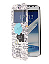 Special Design Pattern Full Body Case with Window for Samsung Note2(N7100)