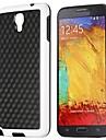 Elegante Teste padrão TPU Futebol Cube para Samsung Galaxy Note 3 Lite N750 / Neo N7500