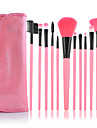 Make-up For You® 12pcs Makeup Brushes set Professional/Limits bacteria Pink blush brush eyeshadow/brow/eyeliner/eyebrow brush cosmetic brushes