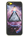 Gleamy Triangle in the Universe Pattern Shimmering PC Hard Case for iPhone 5C