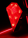 CoolChange Diamante Waterproof Tail Light Red Bicycle