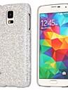 Robe de soirée paillettes flash paillettes modèle en cuir enduit Housse dur pour Samsung Galaxy i9600 S5