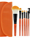 Make-up For You® 7pcs Makeup Brushes set Limits bacteria Orange Eyeshadow/Blush/Lip Brush Eye Brow Brush Makeup Kit Cosmetic Brushes Tool set