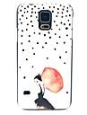 Para Samsung Galaxy Capinhas Estampada Capinha Capa Traseira Capinha Mulher Sensual PC Samsung S5
