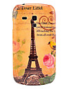 Famous Eiffel Tower with Bird Pattern Hard Back Cover Case for Samsung Galaxy S3 Mini I8190