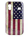 For Samsung Galaxy etui Mønster Etui Bagcover Etui Flag PC Samsung Ace