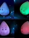 Farverige Vinyl LED natlys