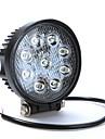 27W 9LED рабочий свет противотуманных фар для джипа Сув АТВ внедорожных грузовик водонепроницаемый IP67