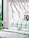 Motif Peach Blossom Wall Sticker (1PCS)