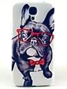 Happy Dog Pattern Hard Case Cover for Samsung Galaxy S4 I9500
