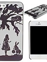 Classic Alice In Wonderland Pattern PC Hard Case for iPhone 5/5S