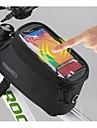 ROSWHEEL 5.5 Inch Bike Bag/Smart Phone Bag Cycling Polyester Waterproof Bike Tube Touch Screen Mobile Phone Bag