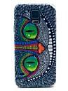 Pour Samsung Galaxy Coque Motif Coque Coque Arriere Coque Chat Polycarbonate pour Samsung S5