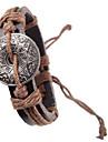мужская старинные картины кожаный браслет