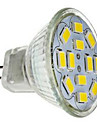JUXIANG GU4 5 W 12 SMD 5730 560 LM Cool White MR11 Decorative Spot Lights DC 12 V