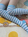 Socks/Stockings Sweet Lolita Sailor Lolita Lolita Lolita Lolita Accessories Stockings Striped For Nylon