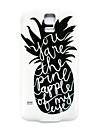 frais ananas modele mince couverture de cas dur pour les i9600 Samsung Galaxy S