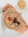 Women\'s New Rhinestone Rabbit Keith Rose Gold Watch