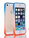 natusun ™ шт материальные бамперы Straight Edge гиппокамп пряжки случай для IPhone 5 / 5S (разных цветов)