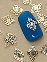 200pcs or royal tranche de metal nail art decoration millesime