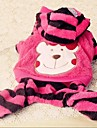 Dog Pants Pink / Yellow Winter Cartoon / Animal