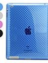 Transparent TPU Soft Case for iPad 2/3/4 (Assorted Colors)