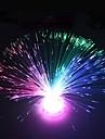 flor de fibra óptica de plástico desenho de luz noite (1pcs)