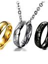 Ожерелье Ожерелья с подвесками Бижутерия Свадьба Для вечеринок Повседневные Религиозный Мода Винтаж Титановая сталь Женский Мужчины 1шт