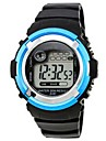 Men\'s Sporty  Digital Silicone Band Wrist Watch(Assorted Colors)