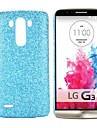 New Arrived Glitter Powder Coated PC Hard Back Case for LG G3 D850 LS990(Assorted Colors)
