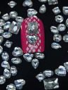 100pcs mix formas de resina acessorios de diamante nao incluem caixa 3d nail art decoracao