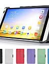 tampa da caixa de couro inteligente ultra-slim para Huawei MediaPad m1 s8-301w tablet
