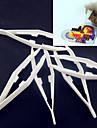 1шт белый пластик пинцет инструмент для предохранителей бусины Hama бисер DIY головоломки Сафти для детей ремесла