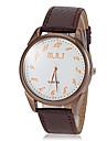 Men\'s Casual Dial PU Band Quartz Wrist Watch (Assorted Colors) Cool Watch Unique Watch