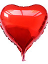 18 Inch Blue Heart Aluminium Membrane Valentine's Day Party Balloon