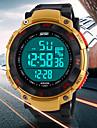 Masculino Relogio Esportivo Digital LED / LCD / Calendario / Cronografo / Impermeavel / alarme Borracha Banda Preta / Azul / Verde marca-
