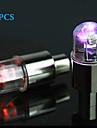 Światła rowerowe / migające światła nasadki zaworu Kolarstwo alarm AG10 / przycisk baterii Lumenów Akumulator Kolarstwo-FJQXZ®