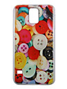 For Samsung Galaxy Case Pattern Case Back Cover Case Cartoon PC Samsung S5