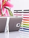 doce cor de volta caso com suporte para Samsung Galaxy nota 3 (cores sortidas)