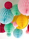 10-дюймовый сотовый папиросной бумаги цветок мяч (больше цветов)