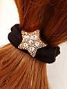 пятиугольник звезда горный хрусталь волосы связывает украшения
